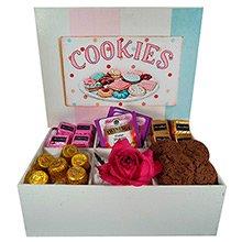 Caixa Cookies & Delícias