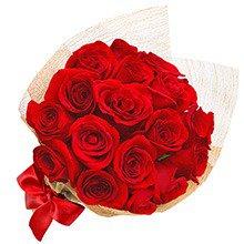 Esplêndido de 18 Rosas Vermelhas
