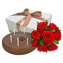 Felicidades Com Rosas Vermelhas