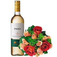 Mix de Rosas & Vinho Paso Sauvignon