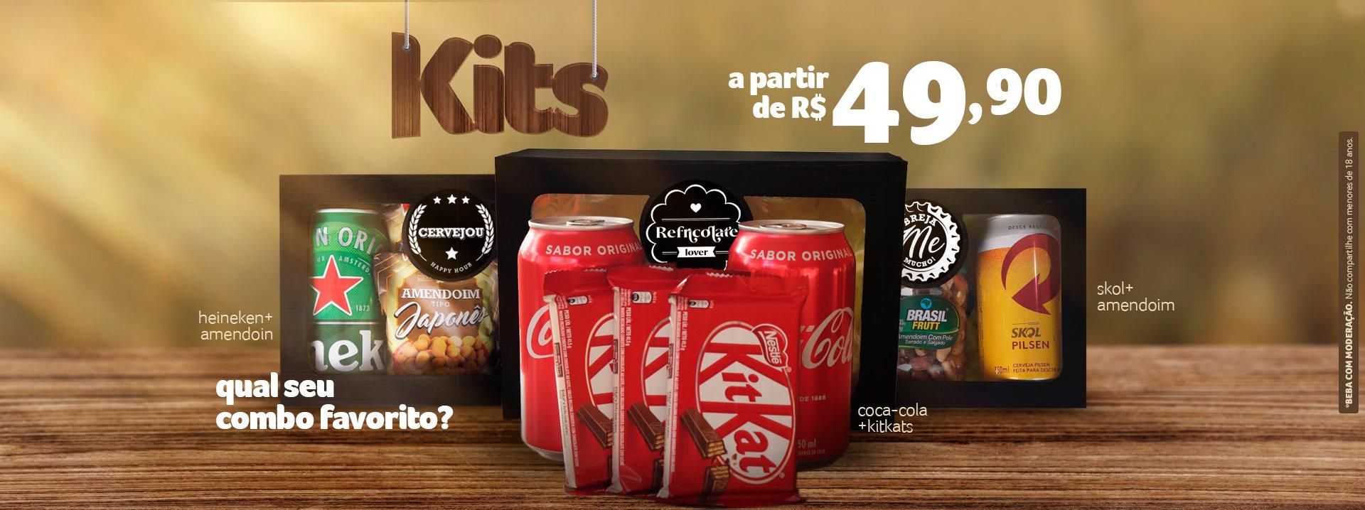 Kits por R$ 49,90