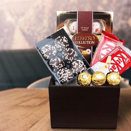 Cestas de Chocolates para agradecimento