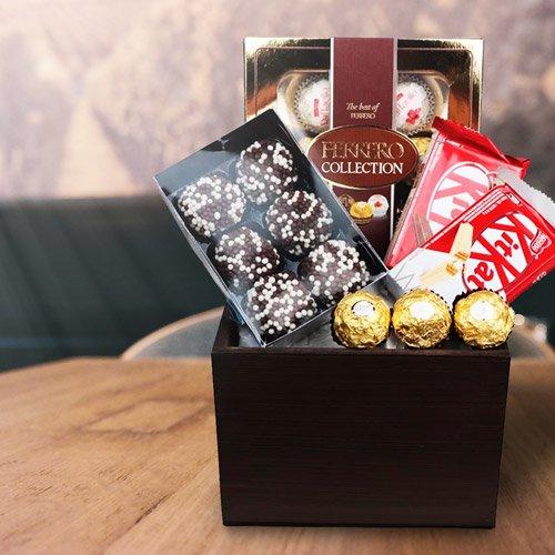 Coleção Cestas de Chocolate Cestas Michelli