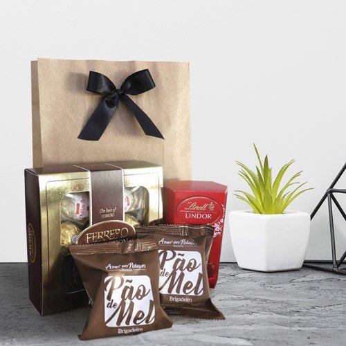 Kit com chocolates especiais