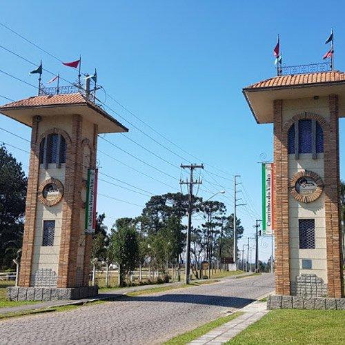 Entrada para o Caminho do Vinho em São José dos Pinhais