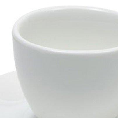 Xícara com Pires Branca