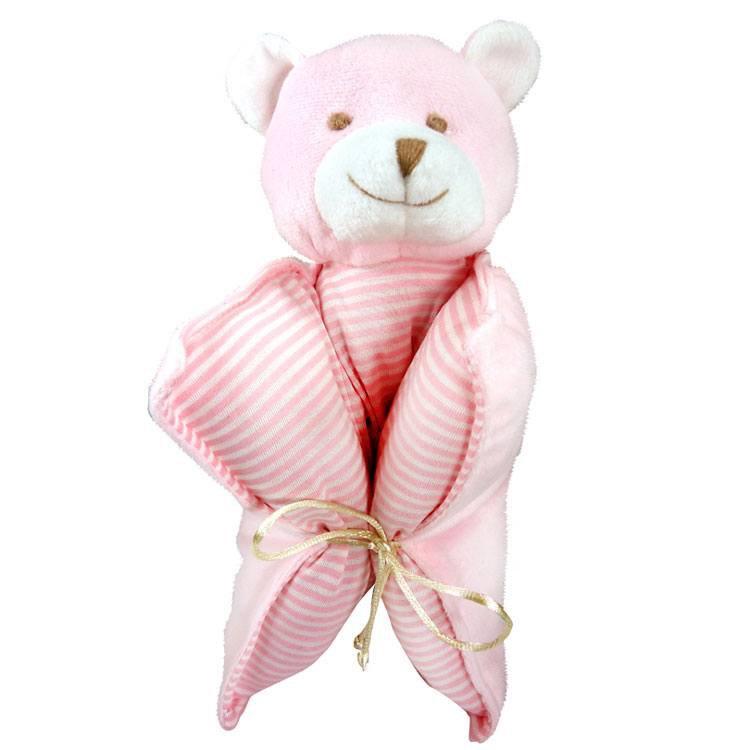 Travesseiro Urso Rosa