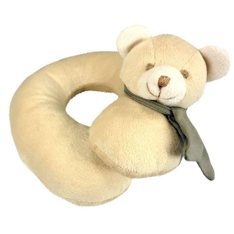 Urso Bege (apoio para pescoço)