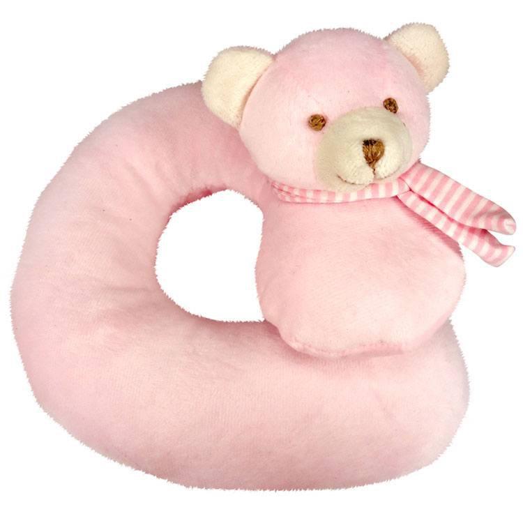 Urso Rosa (apoio para pescoço)