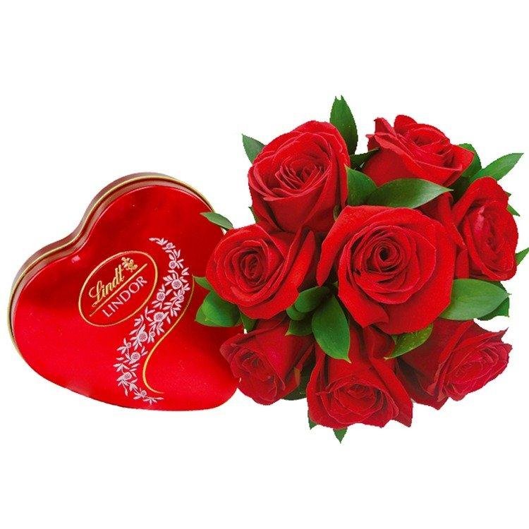 Meu Grande Amor com Chocolate Lindt