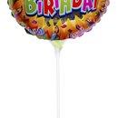 Balão Redondo Happy Birthday