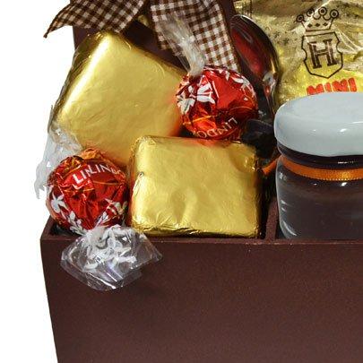 Cesta de Chocolate Pra quem Merece