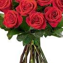 Ramalhete de 12 Rosas Colombianas Vermelhas