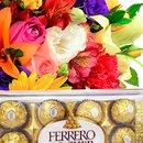 Buquê Mix com Ferrero Rocher