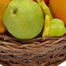 Cesta Premium de Frutas Tropicais