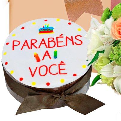 Kit de Aniversário Felicidades para Você