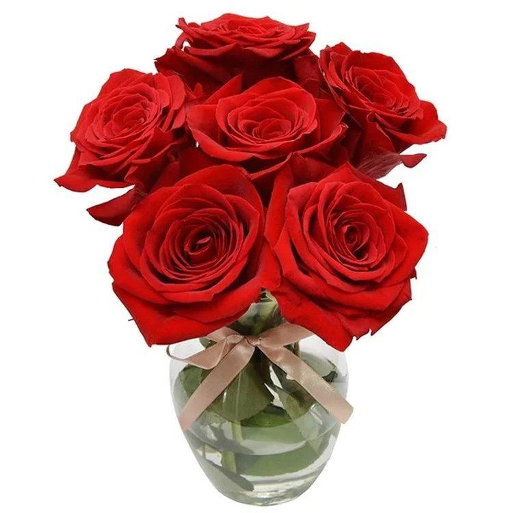 Surpresa de Rosas Vermelhas Colombianas