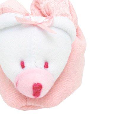 Pantufa Urso Rosa