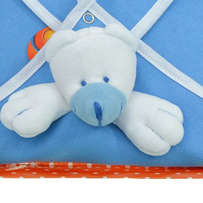 Blanket Urso Azul