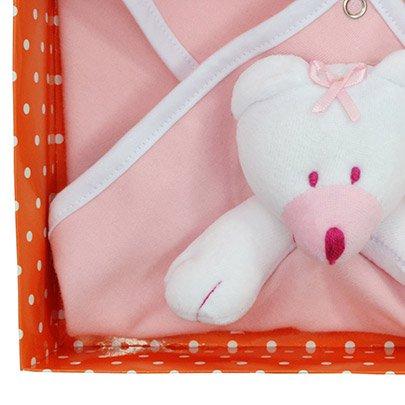 Blanket Urso Rosa