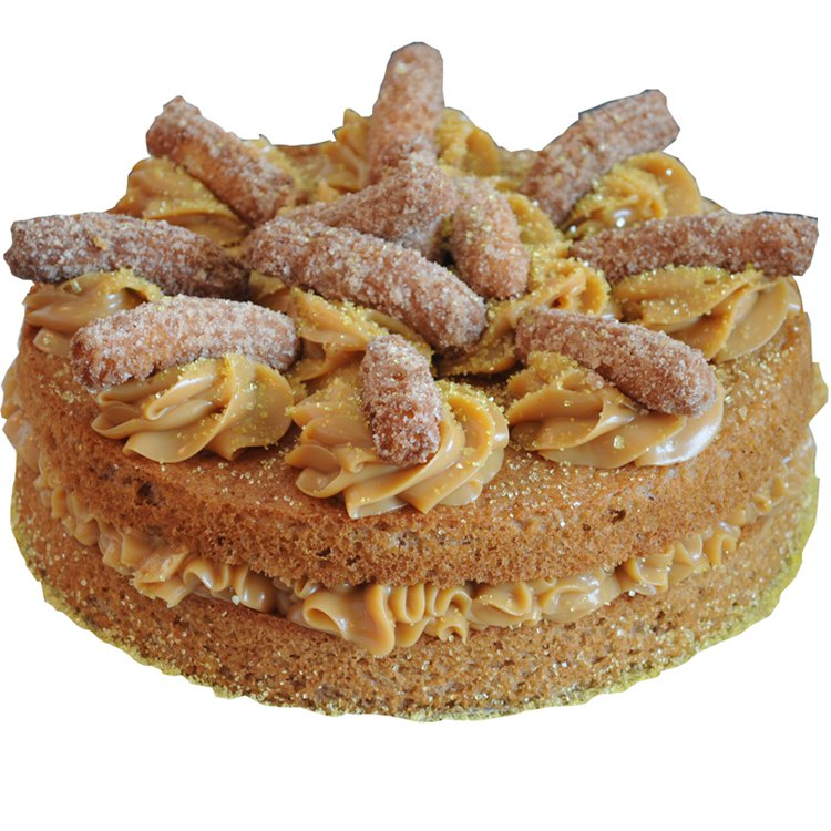 Naked Cake De Churros