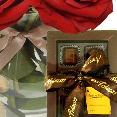 Surpresa de Colombianas, Pelúcia e Chocolate