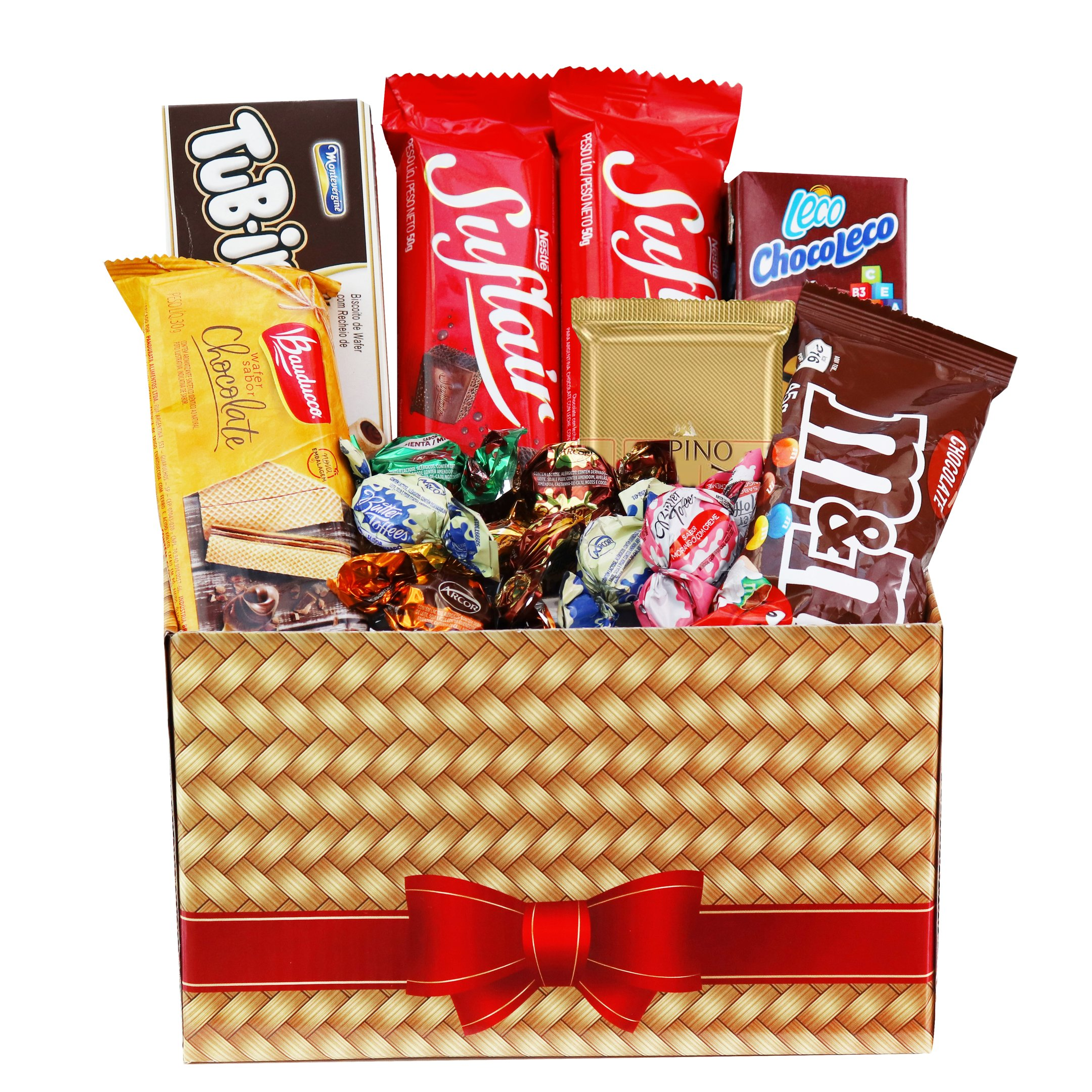 Cesta Paixão Por Chocolates
