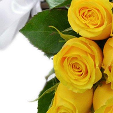 Buquê de 30 Rosas Amarelas