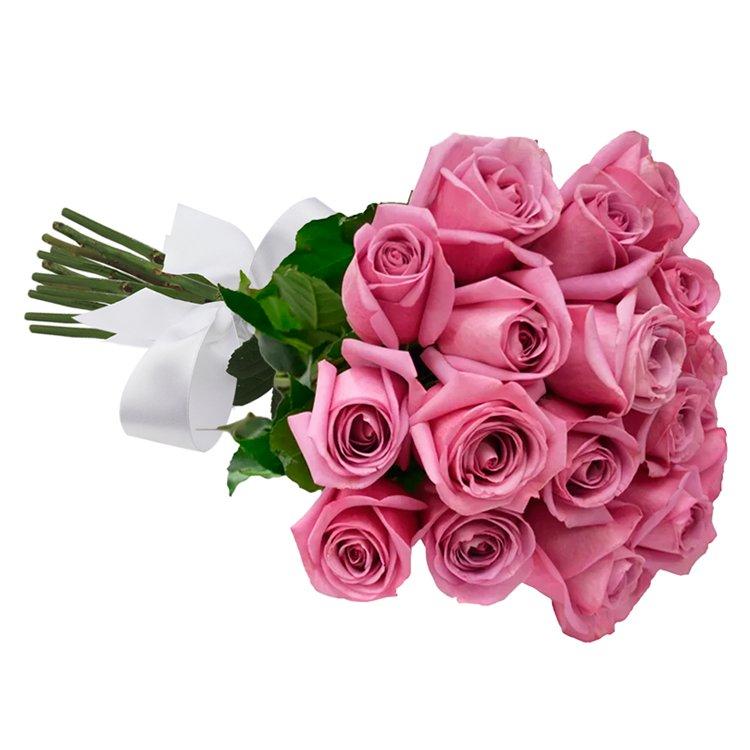 Buquê de 18 Rosas Lilás
