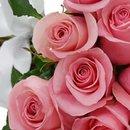 Buquê de 42 Rosas Cor de Rosa