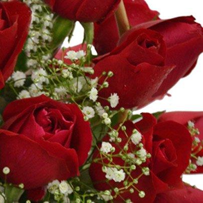 Cesta de 36 Rosas Vermelhas