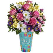 Carinhoso Presente de Flores do Campo