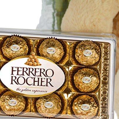 Kit Encanto de 6 Girassóis com Chocolate
