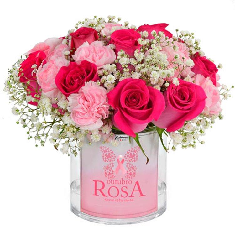 Delicada Poesia Rosa (Outubro Rosa)