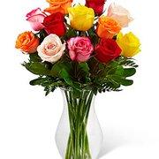 Flower Arranjo de Rosas Color  Internacional