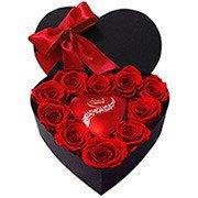 Coração Eterno Amor Vermelha