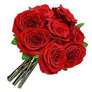 Buquê de Rosas Vermelhas com 8 Unidades