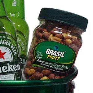 Balde de Cerveja Heineken e Amendoim