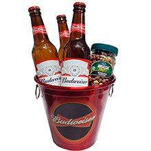Kit de Presente Budweiser Beer
