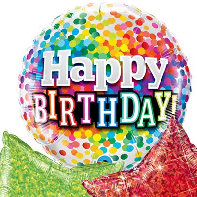 Encanthe Box Balões Happy Birthday