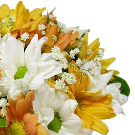 Arranjo de Flores do Campo Laranja