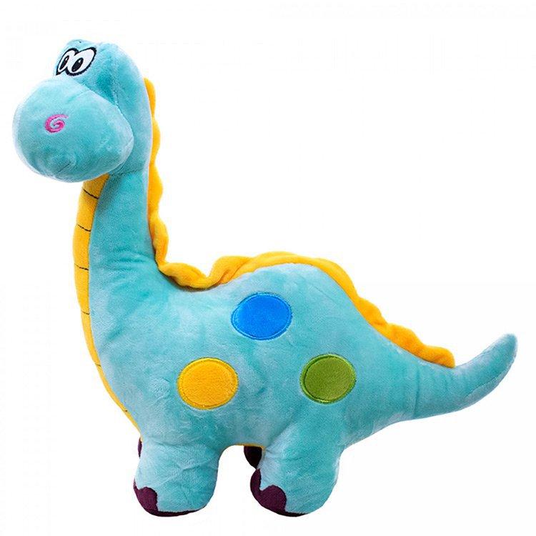 Dinossauro de Pelúcia Cor Azul