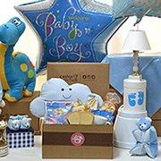 Cesta de Maternidade Para Menino Box