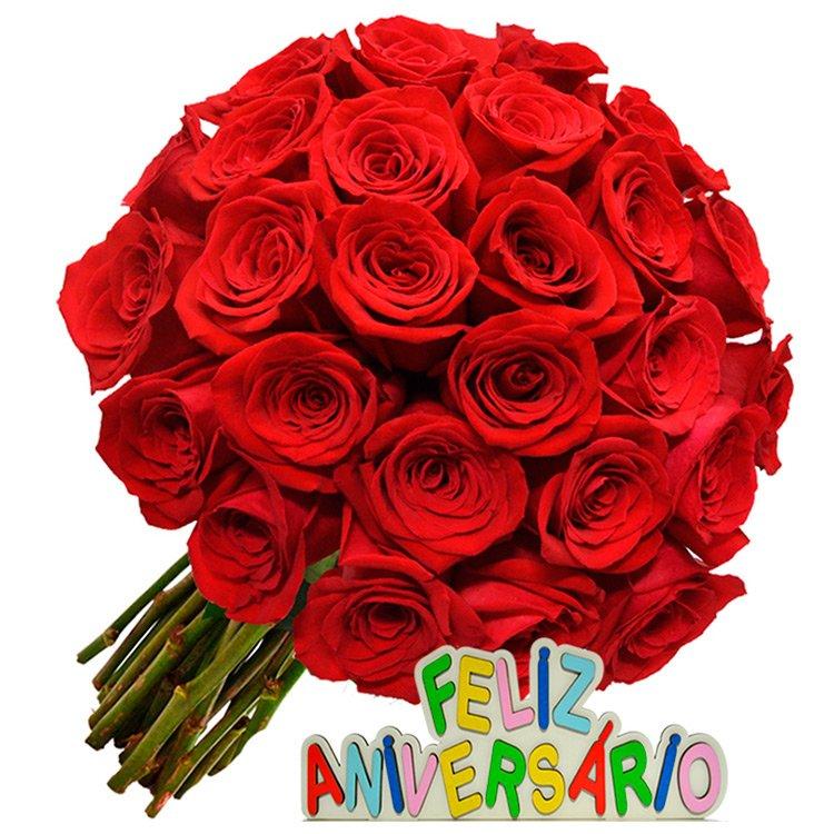 Espetáculo de Rosas Feliz Aniversário