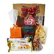 Kit Delicias do Natal na Sacola Kraft
