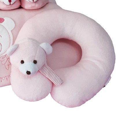 Kit Conforto Rosa para o Bebê