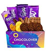 Cesta Premium de Chocolates Milka