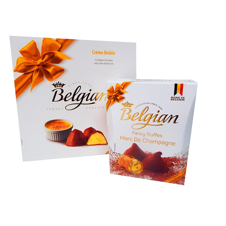 Kit de Trufas de Chocolate Belgian Champanhe