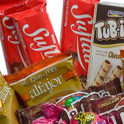 Cesta Mix de Chocolates