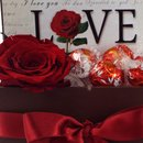 Cesta Presente Love Chocolate Lindt